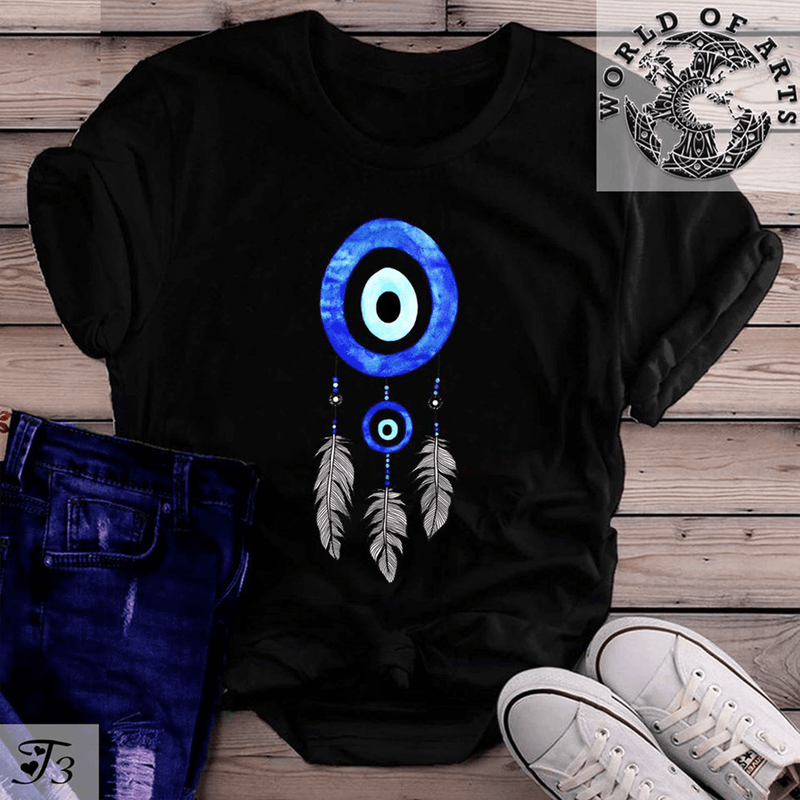 Blue Dream Catcher T-Shirt