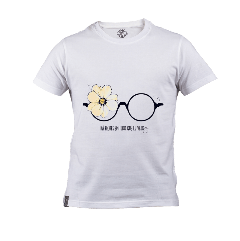 Girl Style Glasses T-Shirt
