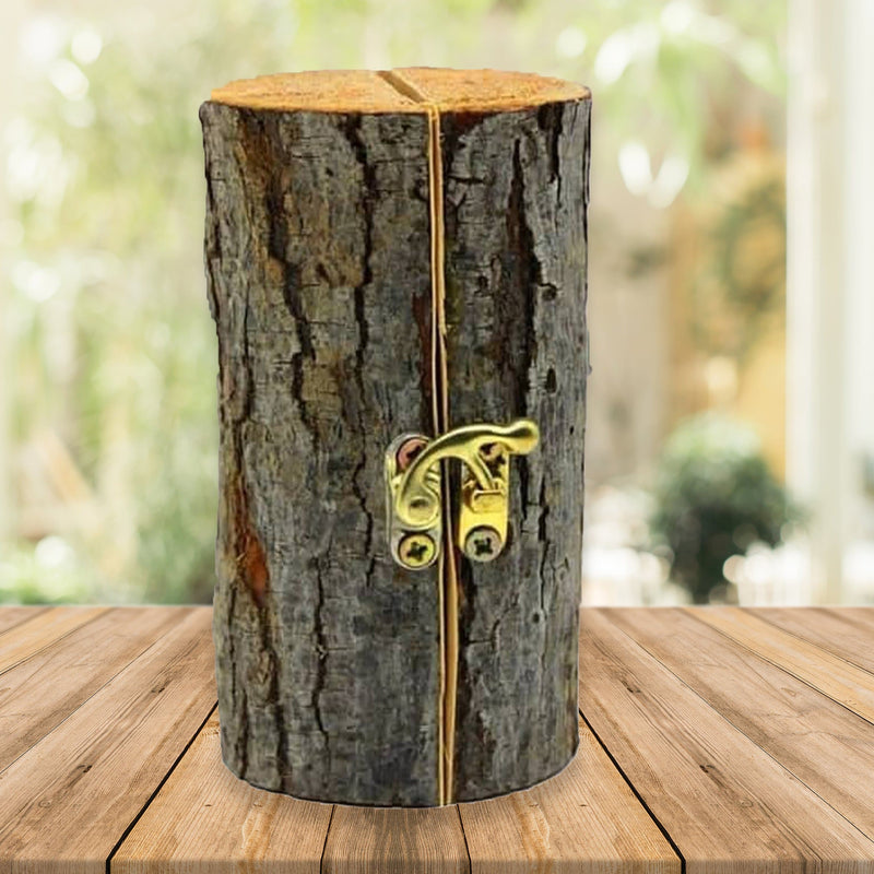 Engraved Tree Trunk