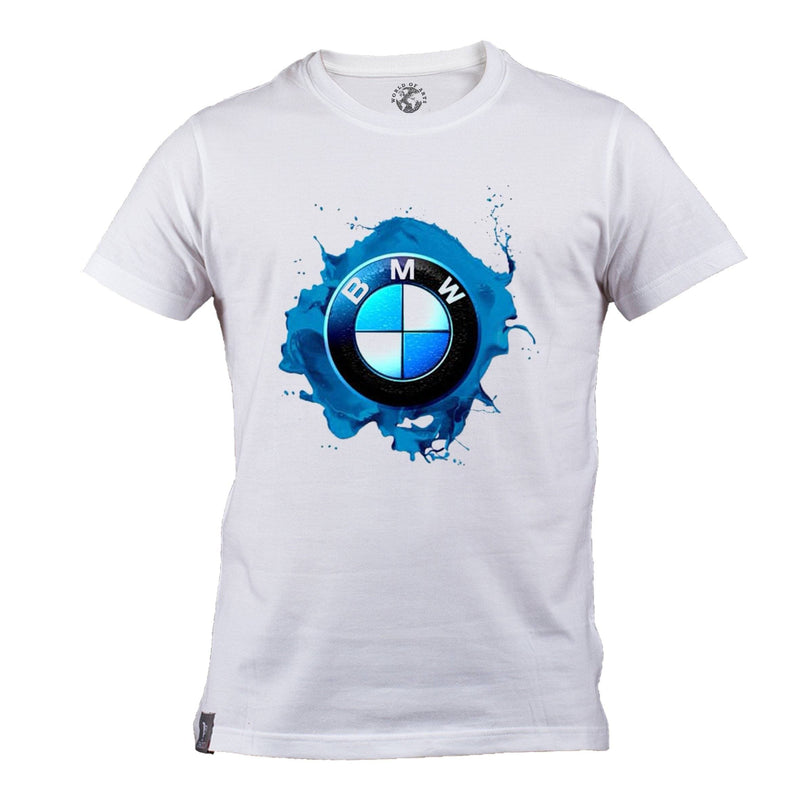 Blue BMW Logo T-Shirt