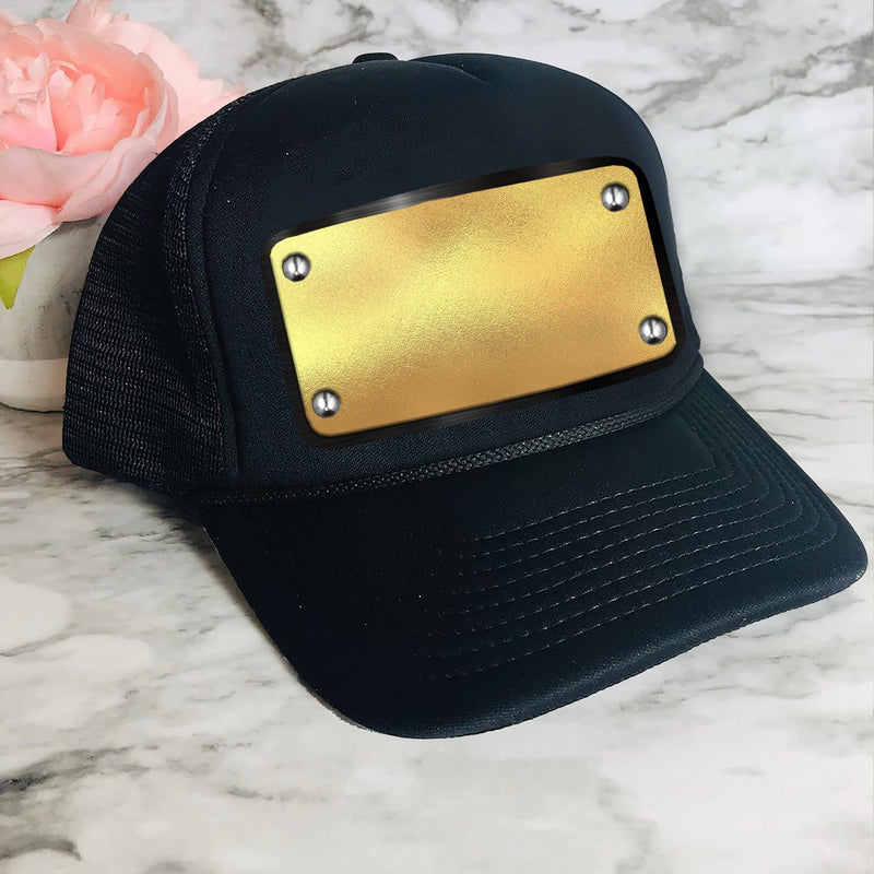 Name on Gold Customized Cap