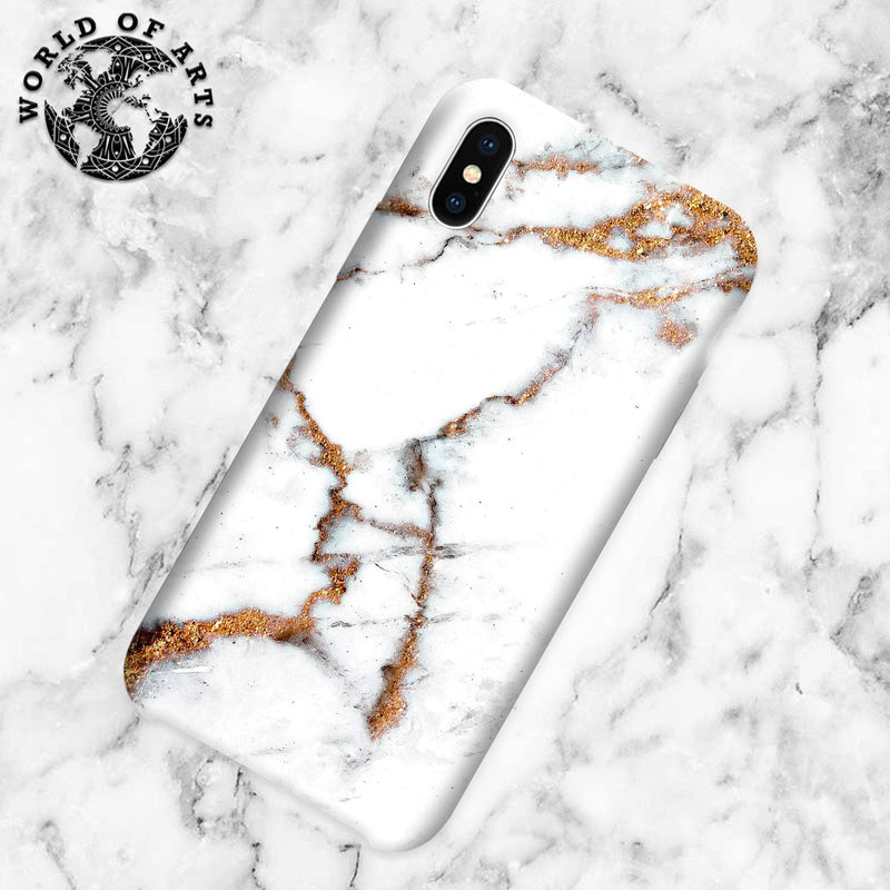 White and Gold Marble cover