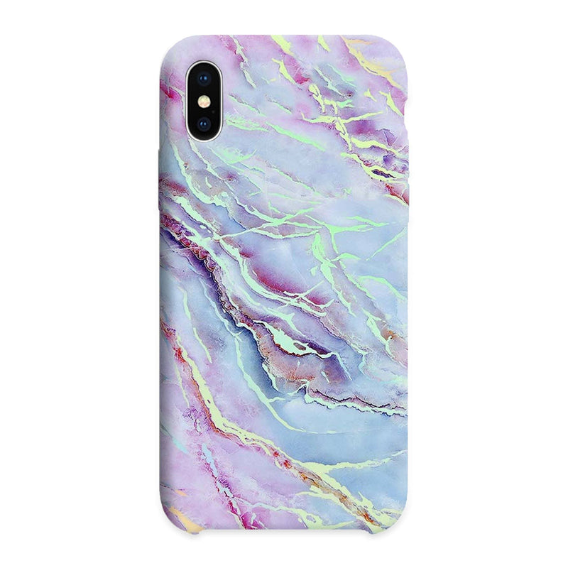 Marble Purple and Blue cover