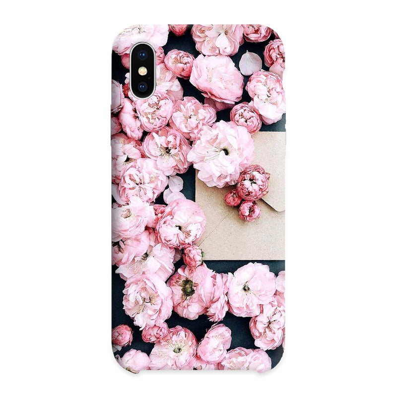 Pink flowers cover