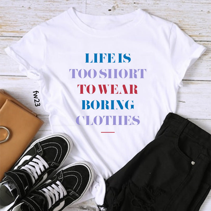 Fashion Quote T-Shirt