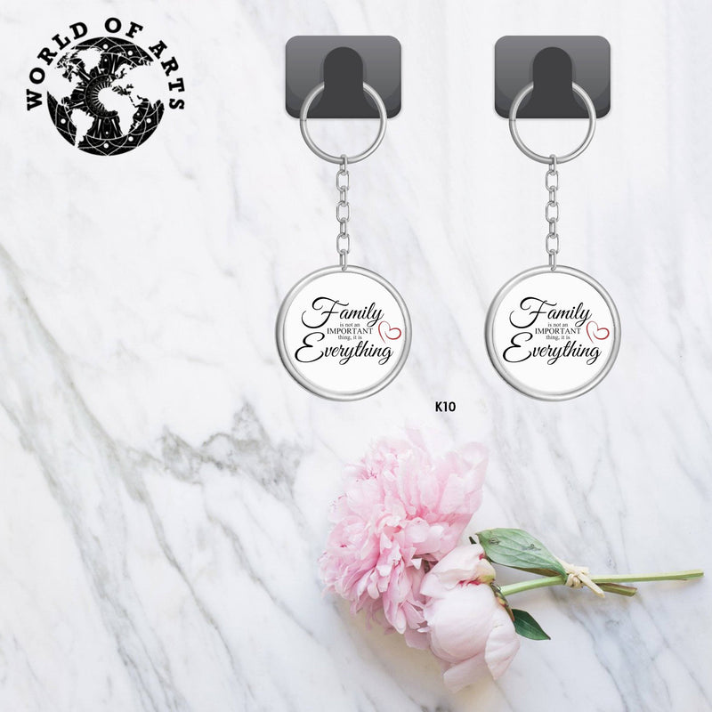 Couples Family Key chain