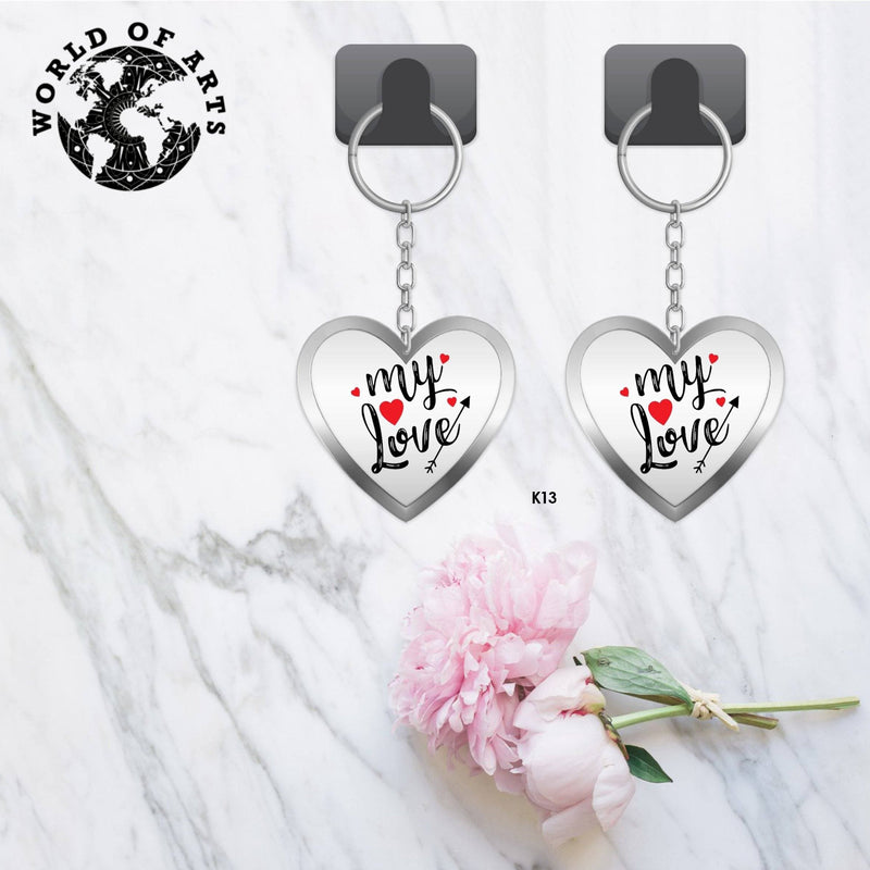 Couples My love Key chain