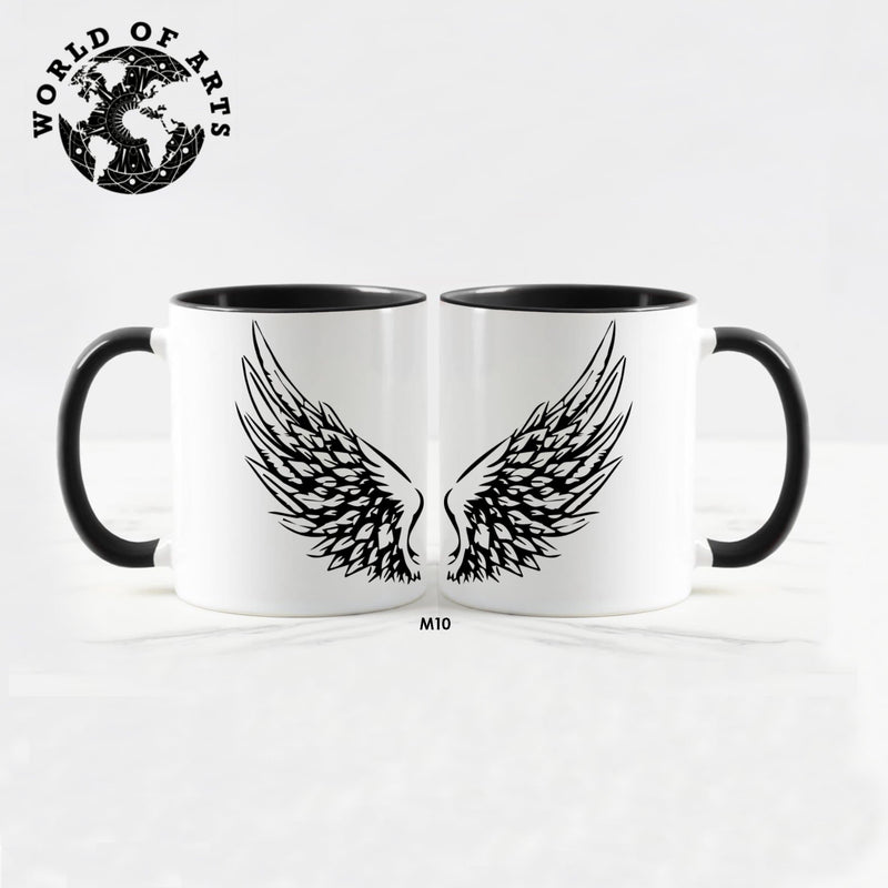 Couple wings Mug
