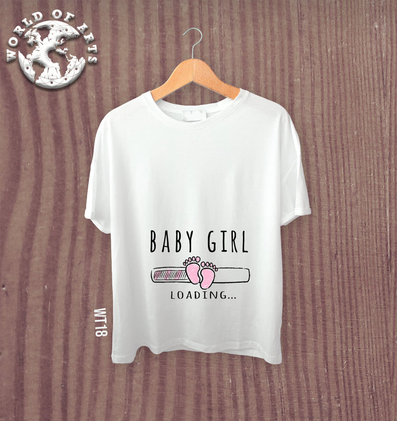 Pregnant its a girl T-Shirt