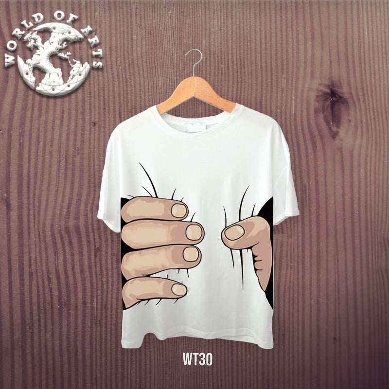 Funny Hand illustration T-Shirt