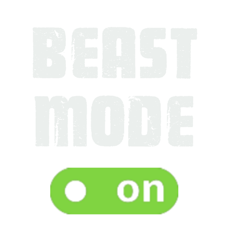Beast mode on T-Shirt women