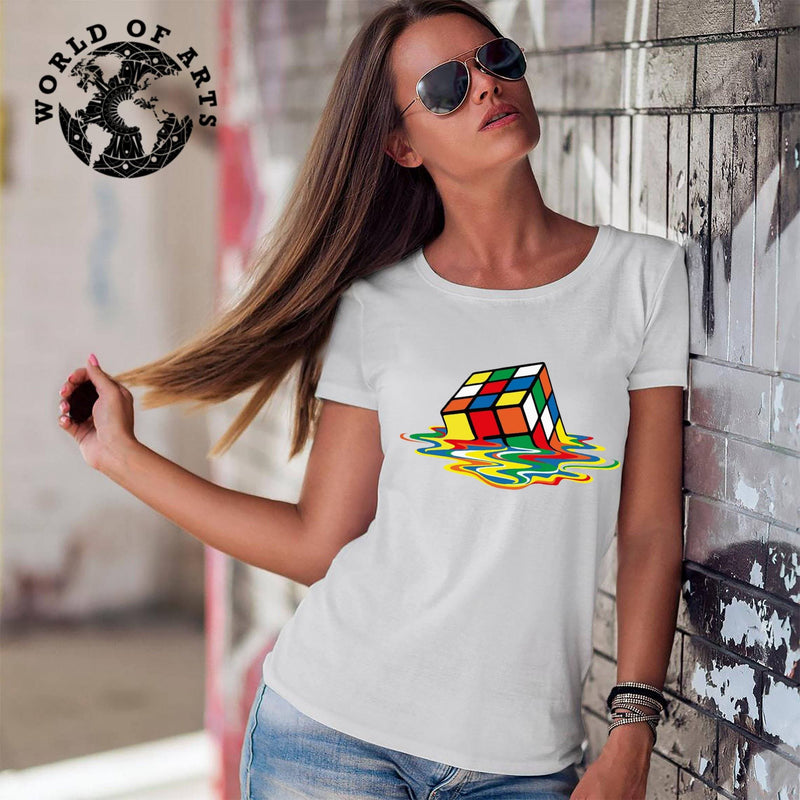 Melted Rubik T-Shirt