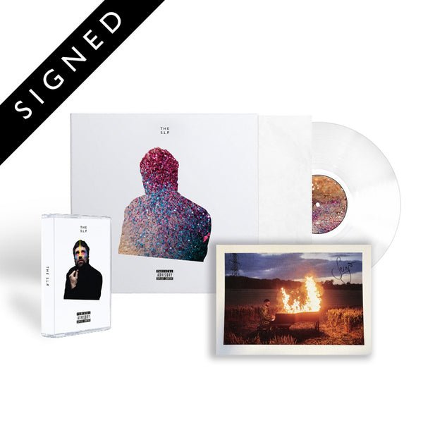 Exclusive Transparent Vinyl + Cassette + Signed Insert
