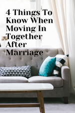 4 Things Couples Need to Know When Moving In Together After the Wedding