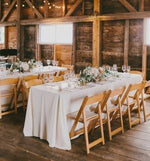 Decorating a Winter Farmhouse Wedding