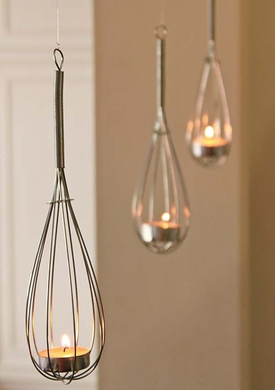 Kitchen Themed Bridal Shower: Whisk Lights