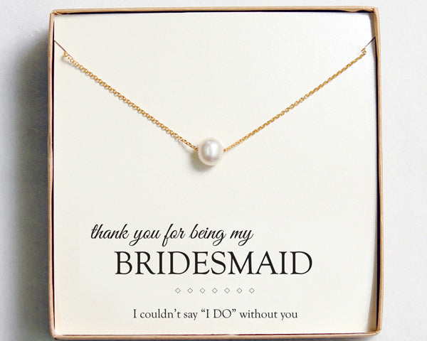 Pearl Necklace | 7 Bridesmaid Gifts Your Ladies are Sure to Love | My Wedding Favors
