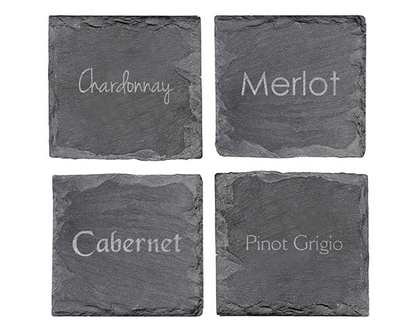 Unique Bridal Shower Gifts: Slate Coasters