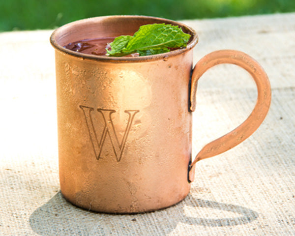 Kitchen Themed Bridal Shower: Moscow Mule Mug