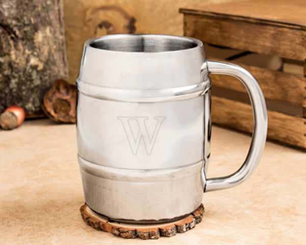 Personalized Keg Mugs | 8 Groomsmen Gifts for Alcohol Lovers | My Wedding Favors