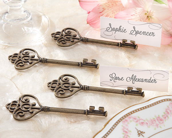 Classic Wedding Themes: Vintage Wedding Place Card Holders