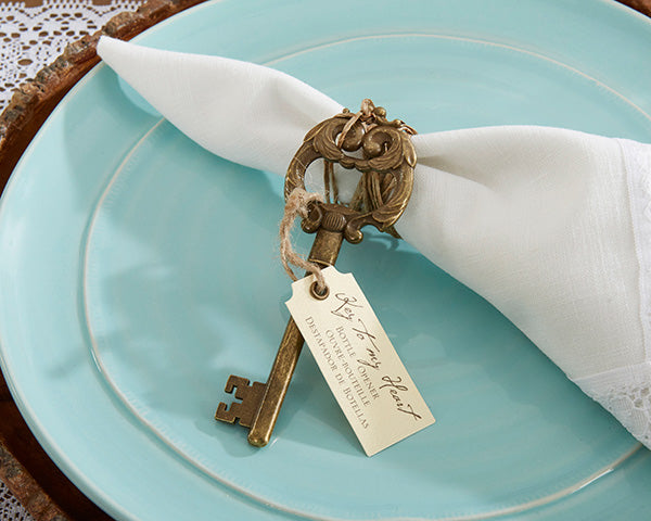 Key Bottle Opener | 6 Favors for a Vintage Bridal Shower | My Wedding Favors