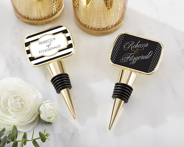 Classic Wedding Themes: Bottle Stoppers
