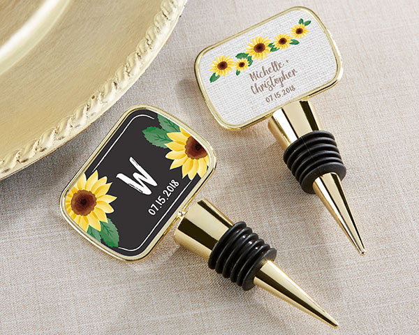 Useful Wedding Favors: Bottle Stoppers