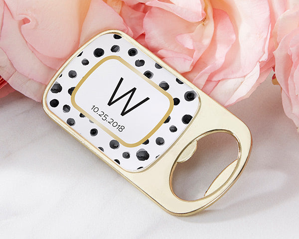 Bottle Openers | Modern Classic Wedding Favors | My Wedding Favors