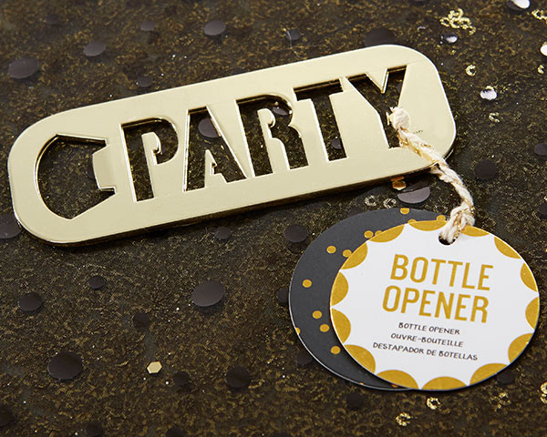 Party Bottle Opener | 9 Wedding Favors For a New Year's Eve Wedding | My Wedding Favors