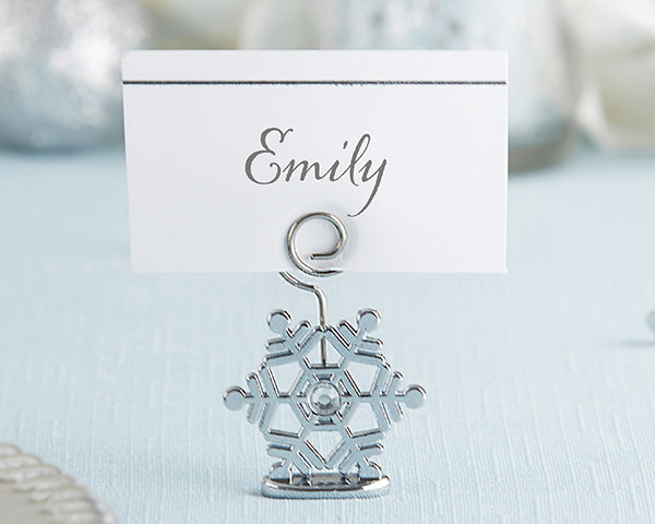 Winter Wedding: Snowflakes