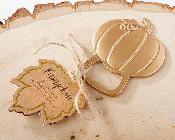 Pumpkin Bottle Openers | Hot Tips for Planning an Autumn Wedding | My Wedding Favors