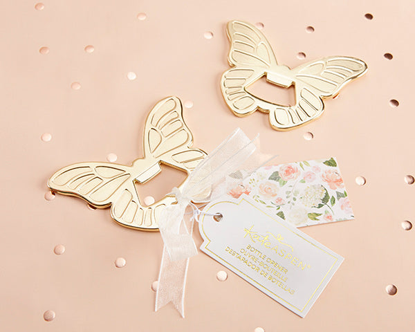 Butterfly Bottle Openers | 8 Lovely Spring Wedding Favors & Décor | My Wedding Favors