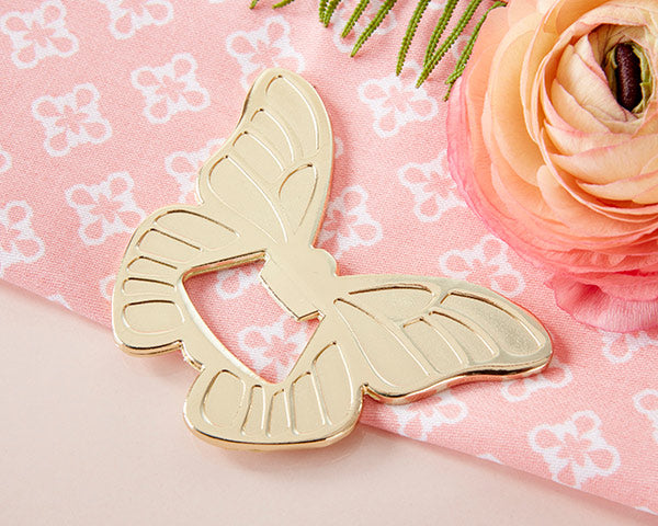 Gold Butterfly Bottle Openers | Everything You Need for a Champagne Brunch Bridal Shower | My Wedding Favors