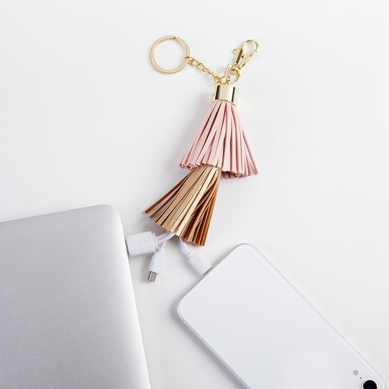 USB Tassel Keychain | Gifts for Your Bridesmaids Under 21 | My Wedding Favors