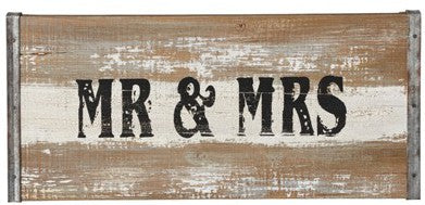 Mr and Mrs Gifts: Wall Decoration | MyWeddingFavors.com