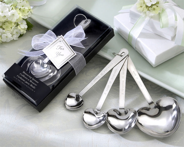 Kitchen Themed Bridal Shower: Heart Measuring Spoons