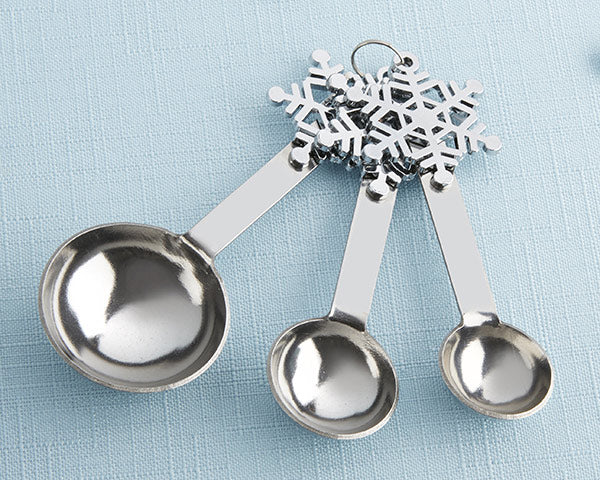 Snowflake Measuring Spoons | 9 Holiday Gifts Any Bride and Groom Would Love | My Wedding Favors