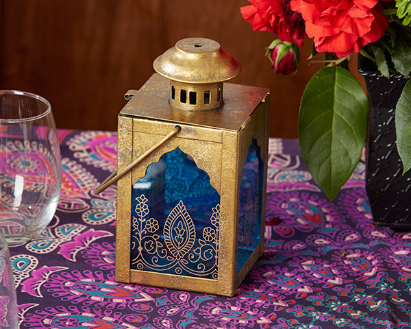 Sapphire Blue Lantern | Decor and Favors to Throw a Magnificent Mehndi Party | My Wedding Favors