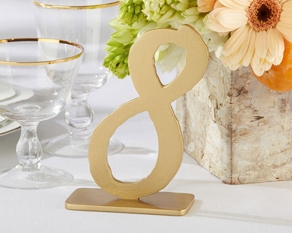 Table Number Table Decor | 9 Charming Wedding Table Decor Ideas | My Wedding Favors
