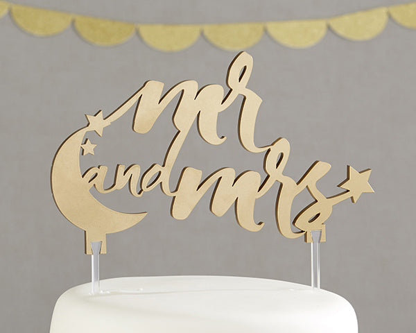 Unique Cake Toppers: Under the Stars