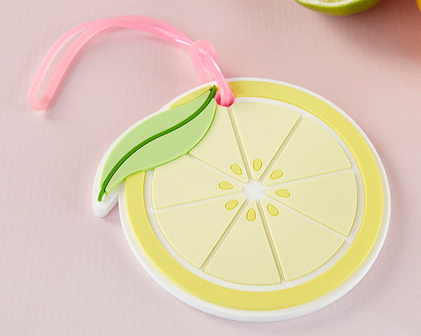 Lemon Luggage Tags | 8 Spring Wedding Favors Your Guests Will Love | My Wedding Favors