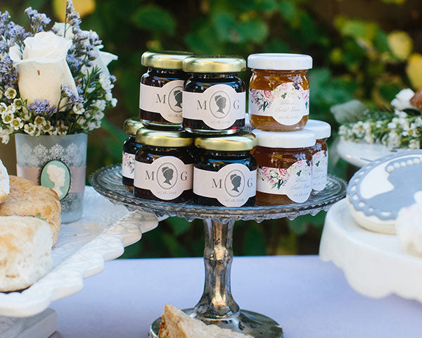 Tea Party Bridal Shower: Strawberry Jam