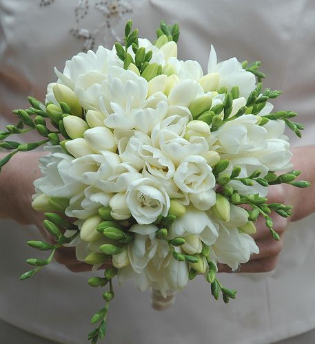 Spring Wedding Flowers: Freesia
