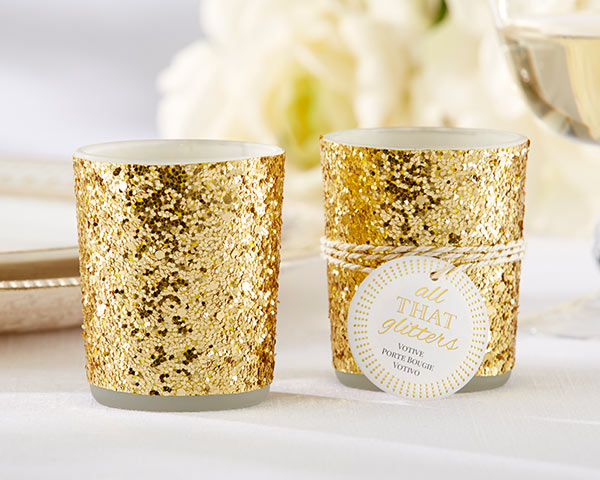 New Year's Eve Wedding: Candle Holders
