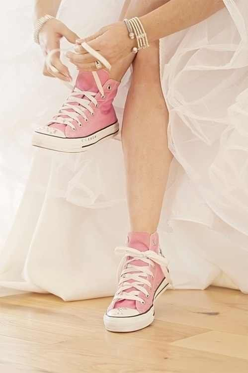 Pink Shoes for the Bride | Incorporating Pink Into Your Wedding | My Wedding Favors