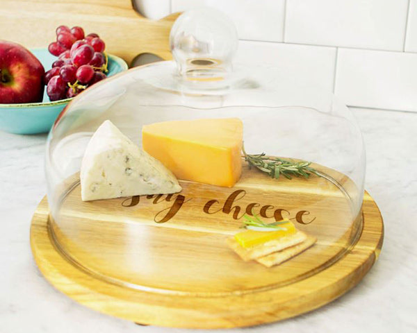 Mother's Day Gifts: Board and Glass Dome