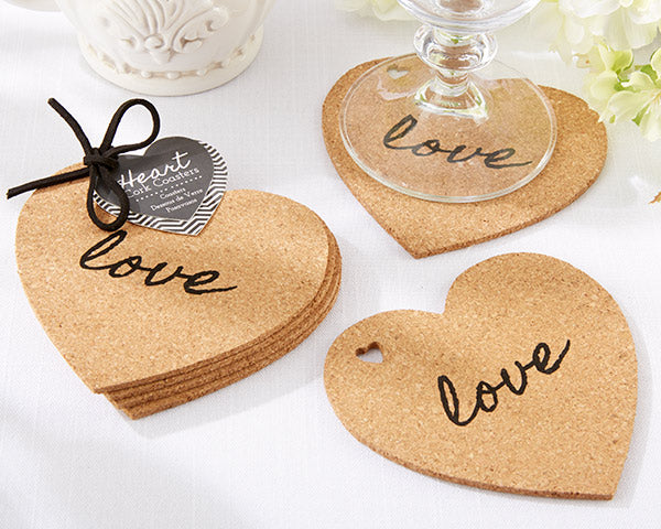 Heart Coasters | 8 Coasters That Will Dress Up Your Wedding Reception Tables | My Wedding Favors