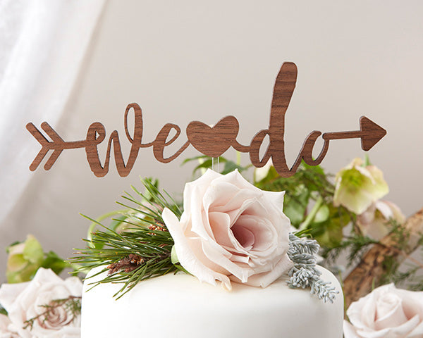 We Do Cake Topper | 8 Cake Toppers For a Show Stopping Wedding | My Wedding Favors