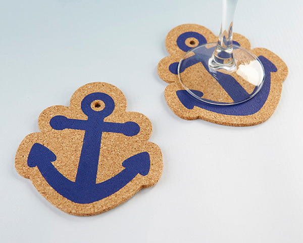 Nautical Coasters | Favors and Decor for a Nautical Wedding | My Wedding Favors